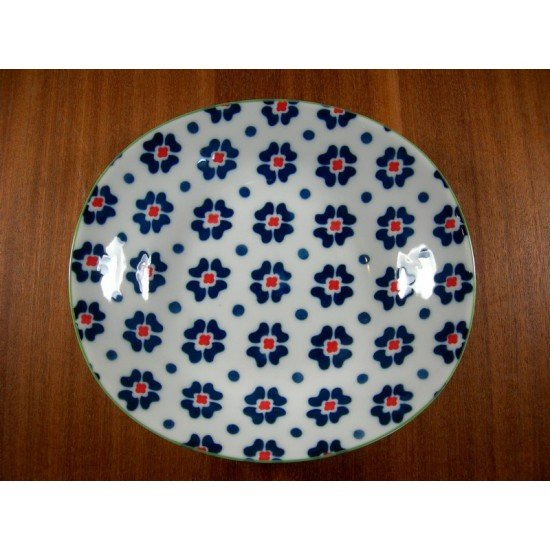 Oval Plate 1841D